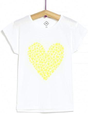 TEX - Camiseta Estampada Manga Corta para Niña