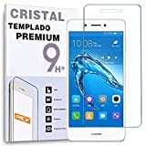 REY Protector de Pantalla para Huawei Enjoy 6S - Honor 6C, Cristal Vidrio Templado Premium