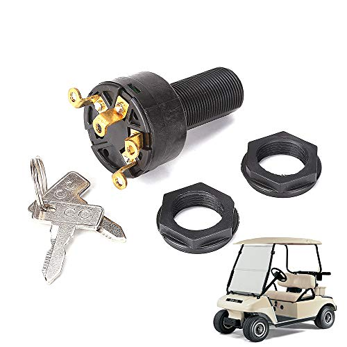Golf Cart Ignition Switch with Keys for Club Car DS 1996-up, OEM# 1018263-01