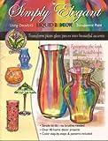Simply Elegant: Using Deco Art's Liquid Rainbow Transparent Paint
