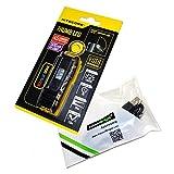Bundle: Nitecore THUMB LEO 45 lumen LED/UV USB rechargeable tilt head worklight (White/Red) and EdisonBright brand USB charging cable