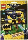 Amscan International 3587601 - Globo de papel de aluminio de Lego Batman