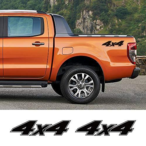 FSXTLLL Auto Pegatinas De Calcomanías, Para Ford Ranger Raptor Pickup, Para Isuzu Dmax, Para Nissan NAVARA, Para Toyota Hilux