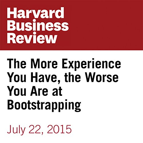 The More Experience You Have, the Worse You Are at Bootstrapping copertina