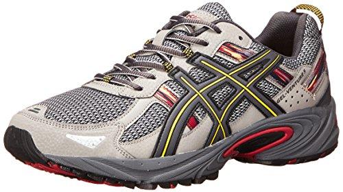 ASICS Men's Gel-Venture 5-M, Light Grey/Graphite/Red, 8 M US- Buy ...