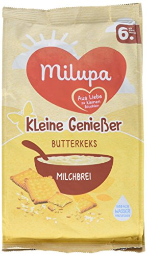 Milupa Kleine Genießer Milchbrei Butterkeks, 5er Pack (5 x 400 g)