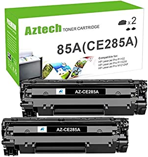 Best Aztech Compatible Toner Cartridge Replacement for HP 85A CE285A Toner Used for HP Laserjet Pro P1102W P1109w M1212nf M1217nfw P1100 M1210 Toner Cartridge Ink (Black, 2-Pack) Review