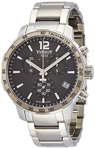 Uomo-Orologio da polso cronografo Tissot luenette acciaio inox T095 417,11,067,00.