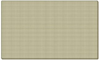 Ghent 24x36 Fabric Tackboard w/ Wrapped Edge - Beige - Made in the USA by Ghent
