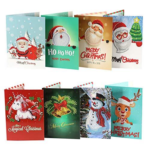 Weihnachskarten im Display 500 Stück verschiedene Motive