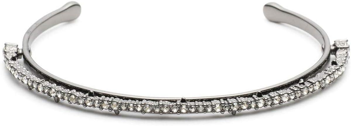 Alexis Bittar Women's Crystal Lace Orbiting Cuff Bracelet