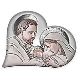 Lupia Capezzale Sacra Famiglia in Legno Heart The Kiss Ceramic...