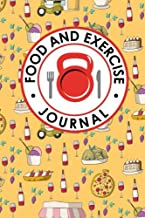Food and Exercise Journal: Daily Food Diary, Food Diary Template, Food And Exercise Log, Food Tracking Journal (Food and Exercise Journals) (Volume 99)