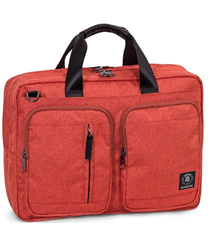 Invicta Messenger Backpack 15.6'' Rucksack, 42 cm, Rot (443)