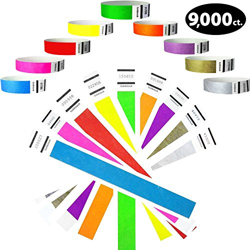 paper wristbands variety pack - 3