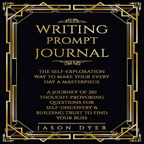 Writing Prompt Journal audiobook cover art