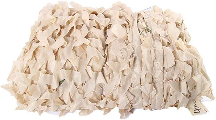 DGLIYJ Filet De Camouflage Beige, Décoration De Parasol Légère Et Durable Aveugle Tir Camping Photographie Jungle - Beige (Taille   3x5m)