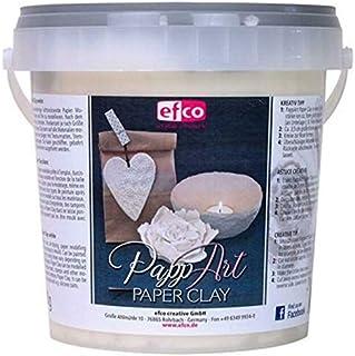 EFCO Paper Clay, White, 900gm