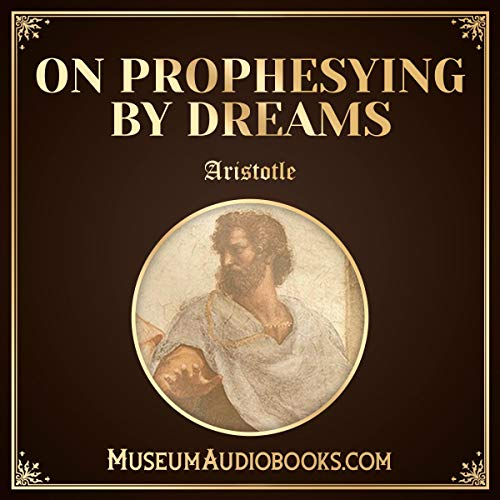 On Prophesying by Dreams audiobook cover art