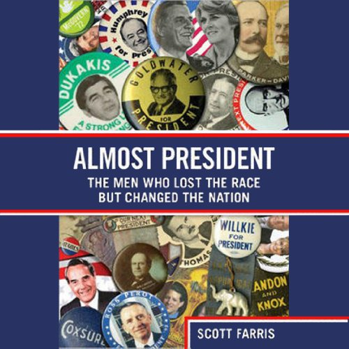Almost President audiobook cover art