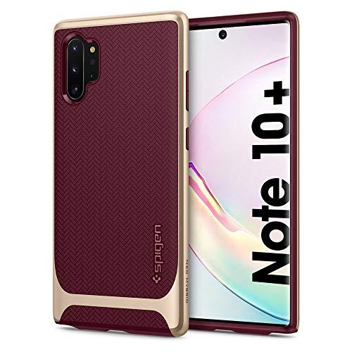 Spigen Coque Note 10 Plus [Neo Hybrid] Protection Double-Couche en TPU+PC, Coque Compatible avec Samsung Note 10 Plus (2019) -Burgundy