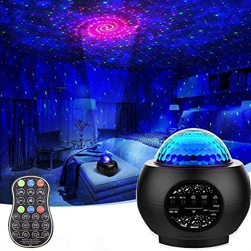 Galaxy Projector Star Projector Starry Night Light for Bedroom LED Space Sky Moving Ocean Wave product image