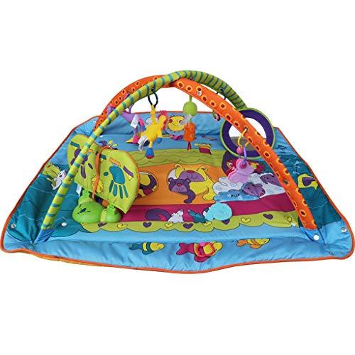 Landau JM Bébé Ramper Jeu Pad Multifonctionnel Bébé Puzzle Jeu Couverture Fitness Cadre Sleeping Pad Enfants Taille des Jouets (110 * 110 * 40CM) ( Color : B )