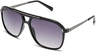 G by Guess Men's Black Square Sunglasses GG212101B59