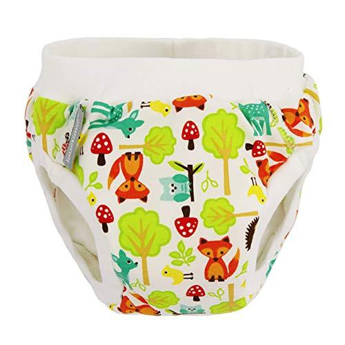Imsevimse Pantalones de entrenamiento con puños suaves. woodland L