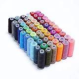 Candora - Filo da cucito per ogni colore, 250 m, per cucire a mano e a macchina (60 colori)