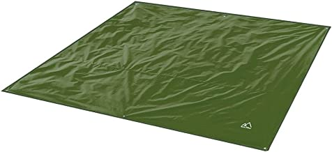 Terra Hiker Camping Tarp, Waterproof Picnic Mat, Mutifunctional Tent Footprint with Drawstring Carrying Bag for Picnic, Hiking