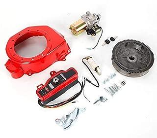 TFCFL Electric Start Kit Starter Motor FlyWheel Fit Honda GX160 5.5HP GX200 6.5HP