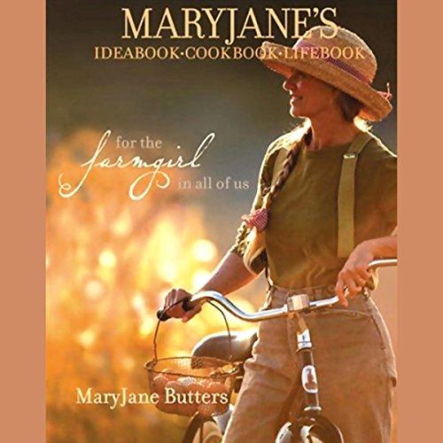 MaryJane's Ideabook, Cookbook, Lifebook audiobook cover art