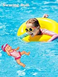 Schwimmpuppenpuppen Für Mädchen Baby Born Mommy Look Ich Kann Schwimmen-Kunst Süße Puppen...