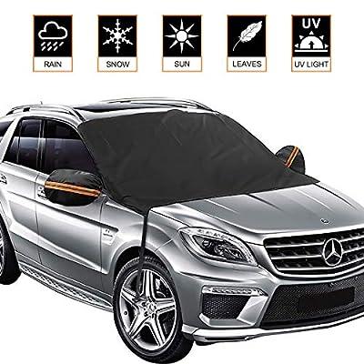 Yoobure Premium Car Windshield Snow Cover Sun S...