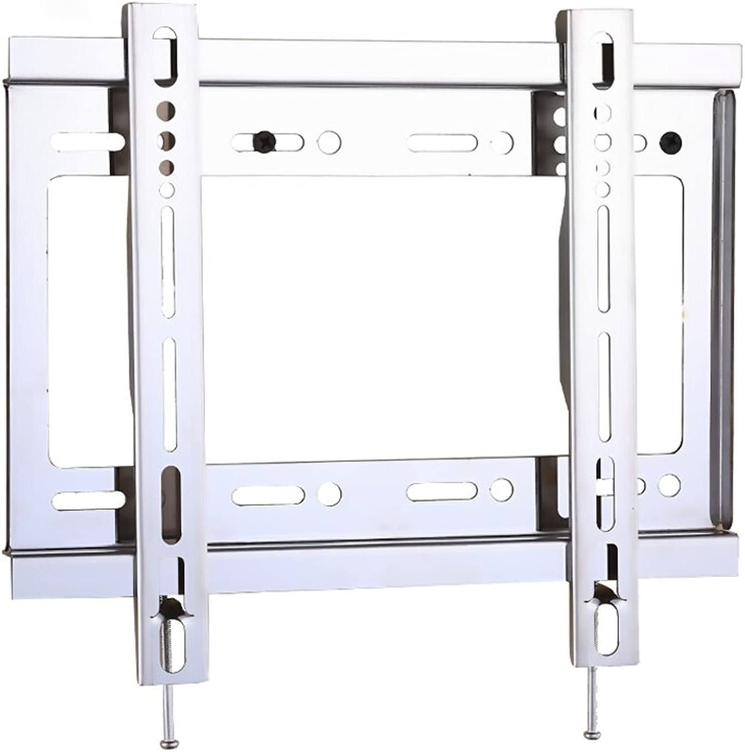 YAXIAO TV Rack Universal Stainless Steel LCD, Wall-Mounted Fixed TV Bracket, 14-32 Inches, 26-55 Inches, 32-65 Inches Wall Shelf (Size   14-32Inch)
