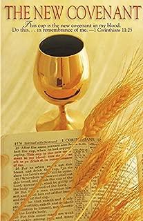 New Covenant/Communion Bulletin, Regular Size (Package of 50)