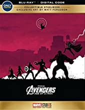 Avengers: Age of Ultron SteelBook Ferguson Blu-ray Best Buy Exclusive BRAND NEW