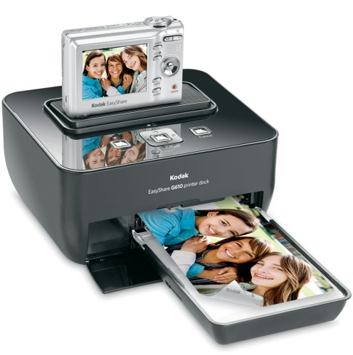 Kodak Easyshare C813 8.2 MP Digital Camera with 3xOptical Zoom with G610 Printer Dock Bundle