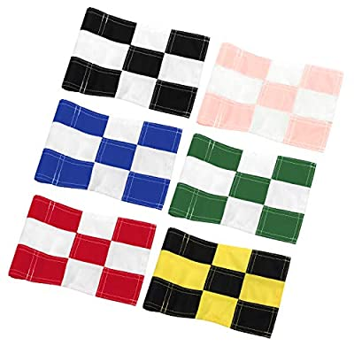 KINGTOP Checkered Golf Flag