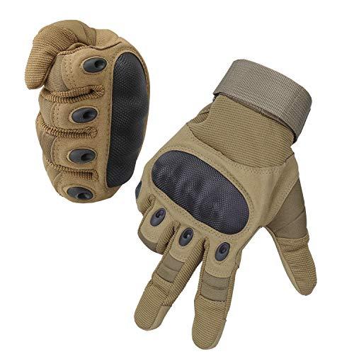 Bequemer Laden Belüften Verschleißfeste Taktische Handschuhe Radfahren Motorrad-Handschuhe der Männer im Freien Vollfinger Handschuhe M/L/XL