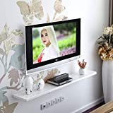 DDPHC Estantería de Pared Set-Top Box Sala de Estar Mueble de TV montado en la Pared Fondo de la Sala TV de Pared Marco de decoración de Pared