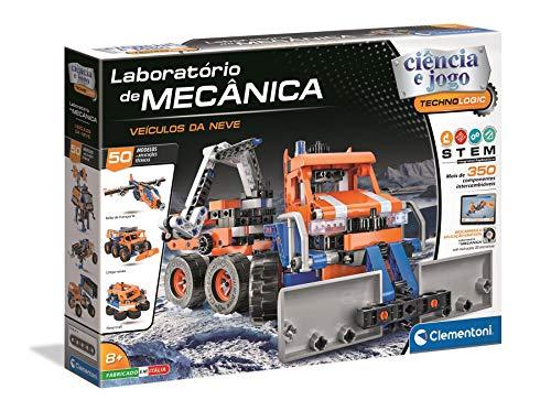 Clementoni 67681 - Laboratório de Mecânica - Veículos Da Neve [Versión Portuguesa]