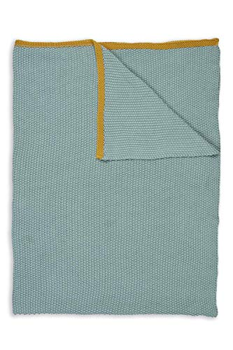 PIP Studio Plaid Pip Bonsoir Throw Farbe Blue Größe 130x170cm Tagesdecke Überwurf