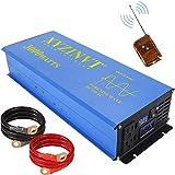 XYZ INVT 3000 watt Power Inverter Pure Sine Wave Inverter 12v to 110v 120v with LED Display and Wireless Remote for RV Car Off-Grid Solar System (3000w 12v RC)