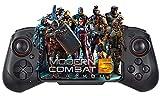 iOS Gamepad Controller, Megadream Wireless Gaming Gamepad Joystick for iPhone 12/12 Pro/12 Mini, iPhone 11/11 Pro/Max, iPhone Xs, XR X, 8 Plus, iPad, iPad Pro Air Mini, iOS 13.4+ - Direct Play (Black)
