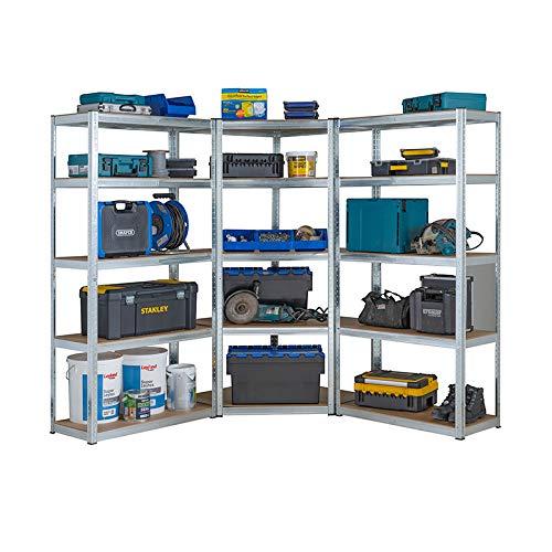 Racking Solutions - Kit esquina garaje galvanizado