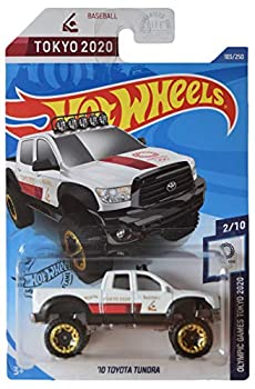 DieCast Hotwheels  10 Toyota Tundra 183/250 [White/Tokyo 2020] Olympic Games Tokyo 2020
