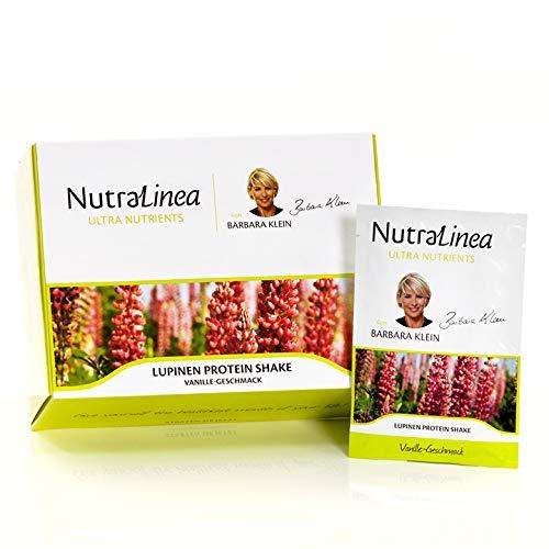 NutraLinea Lupinen Protein Shake Vanille (Inhalt 20 Päckchen)
