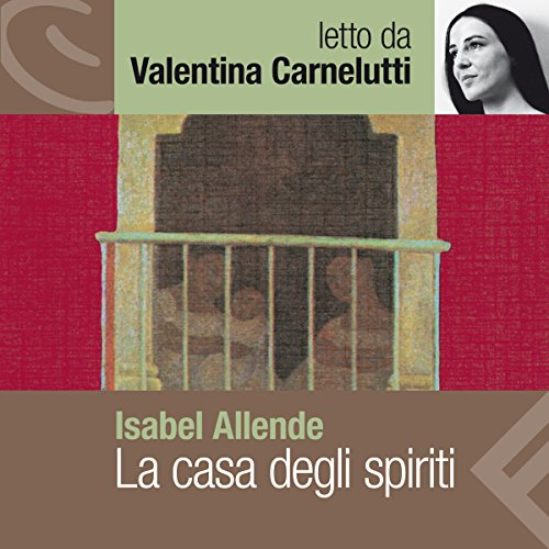 La casa degli spiriti audiobook cover art